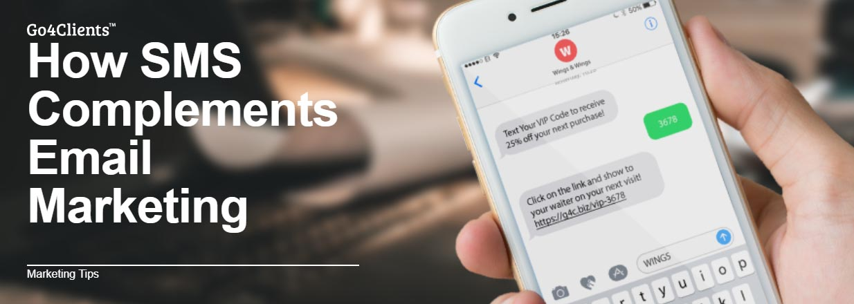How SMS Complements Email Marketing